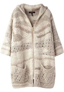 Isabel Marant hand-knit sweater.