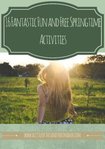 """With the weather cooling down.  Try these tips to help with """"Mom, I'm bored"""" 16 Fantastic Fun and Free Springtime Activities http://www.alittleofthisandthatmama.com/16-fantastic-fun-free-springtime-activities/"""