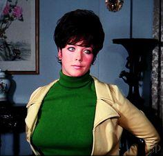 Linda Thorson as Tara in 60's show the Avengers
