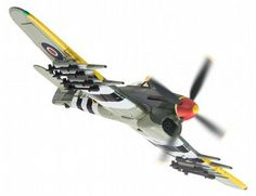 The Corgi 1/72 Hawker Typhoon Mk IB, 247 (China-British) Squadron, No.124 Wing, 2nd TAF, RAF Eindhoven, December 1944 is a diecast model plane in the Corgi Aviation Archive (Limited Edition) range.