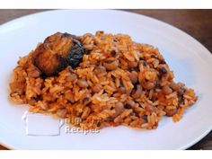 Authentic How to Cook Nigerian Rice and Beans  | All Nigerian Food Recipes, ,