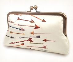 A sucker for arrows, especially when they're on handbags.