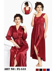 d03dfa5bec Buy Nighty - FL-533 - Flourish 2 Piece Nightwear Online in Karachi