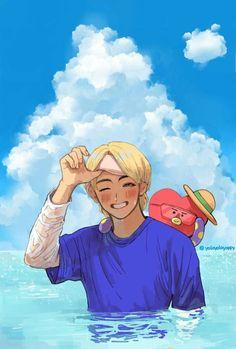 fanart Et Images Funny Bts - Fanart And funny pictures # Random # amreading # books # wattpad - Fanart Bts, Taehyung Fanart, Vkook Fanart, Bts Taehyung, Bts Bangtan Boy, Bts Jimin, Bts Anime, Cosplay Anime, V Bts Cute