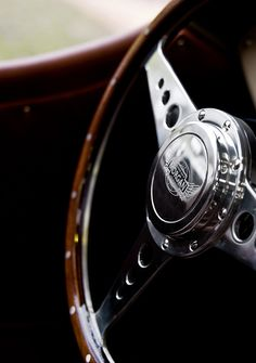 Love this Morgan steering wheel