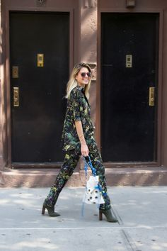 HELENA BORDON LOOK NYFW – SS 17 – DAY 3 – GUCCI PJS