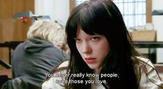 """""""You never really know people ..."""" -La belle personne (2008)"""