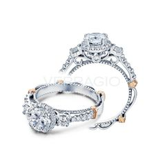 Verragio D-122R-GOLD 14k Gold Diamond Engagement Ring Mounting