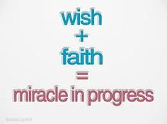 Wish + Faith = Miracle In Progress All Quotes, Best Quotes, Miracle Quotes, My Past, Wish, Online Business, Nice Sayings, Inspirational Quotes, Australia