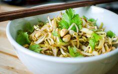 Thai Style Beansprouts & Raw Mango Salad Recipe