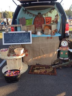 Western trunk or treat! Wanted by God..Reward awaits you in Heaven!