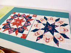 - Love the Swoon block. Made it fussy. Less cuts. More fun.