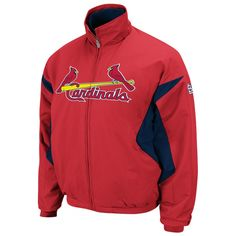 Ikes Baseball St. Louis Cardinals 2013 Triple Peak Premier Jacket