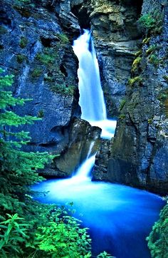 Johnston Canyon Waterfalls, Banff, Alberta, Canada