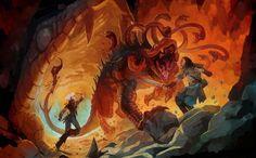 """Thessalhydra é uma espécie dos monstros de """"Thessal"""", que surgiram na segunda edição de Dungeons & Dragons. Ao contrário de outros monstros """"nativos"""", essas criaturas foram criadas artificialmente através de magia pelo lich Thessalar. A hidra é apenas uma das variações, podendo surgir na forma de quimera, cocatriz e gorgona."""