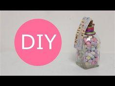 Cómo hacer Botellas con Dulces / Ideas de regalo para San Valentin - Hablobajito - YouTube