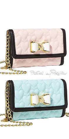 Regilla ⚜ Una Fiorentina in California Cute Handbags, Purses And Handbags, Betsey Johnson Handbags, Cute Purses, Pink Purses, Cute Bags, Backpack Purse, Clutch Wallet, Handbag Accessories