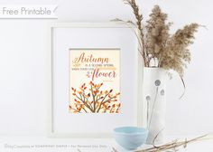 Free Autumn Printable from BitsyCreations for Somewhat Simple