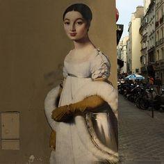 Wall Street Art #ingres#graffiti#paris#wall#art#street#paint#paris1