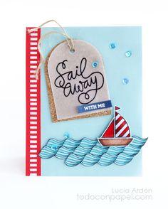 Simon Says Stamp – July 2015 Card Kit – # 1 « Todo con Papel