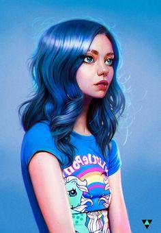 ArtStation - Little Pony Princess, Rene Gorecki