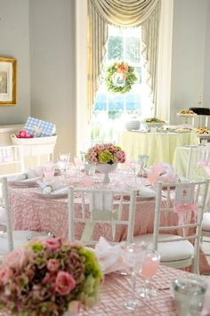 pink green baby shower ideas 2 southern baby shower