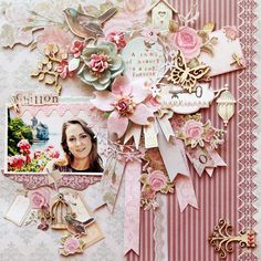 Kaisercraft - True Romance - Larissa Albernaz - Chillon - Scrapbook.com