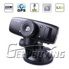 GS1000 Car DVR with GPS logger and G-Sensor Car Camera FULL HD 1080P 30fps Ambarella CPU H.264