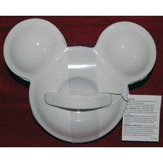Disney Mickey Shaped Casserole/Baking Dish Reg