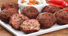 bolinho de carne moída