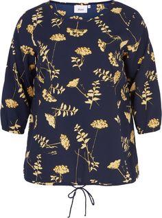 Blomstrete bluse