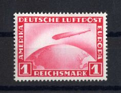 D. Reich 1931 zeppelin  MiNr. 455