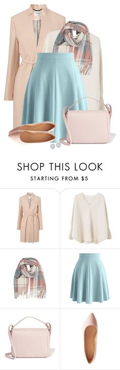 """""""For the Love of Pastel"""" by colierollers ❤ liked on Polyvore featuring L.K.Bennett, MANGO, Chicwish, Dolce&Gabbana and Charlotte Russe"""