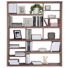 different shelf sizes