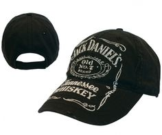 Casquette Jack Daniels reprenant le logo de la marque de Whisky. #logostore #Jackdaniels