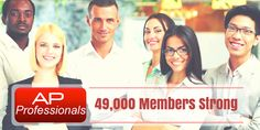 Accounts Payable Professionals: members strong (and counting) Accounts Payable, Accounting, Join, Strong
