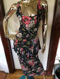 Vintage Betsey Johnson Dress 80s