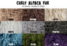 Blue Curly Alpaca Faux Flokati Fur Newborn Photography Prop   Beautiful Photo Props