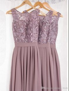 Dusty Mauve Bridesmaid Dresses For Wedding With Applique Pleat Jewel Sleeveless Open Backless Bridesmaid Gowns Long Formal Gowns Prom Gown from Dresses_bride,$78.2 | DHgate.com