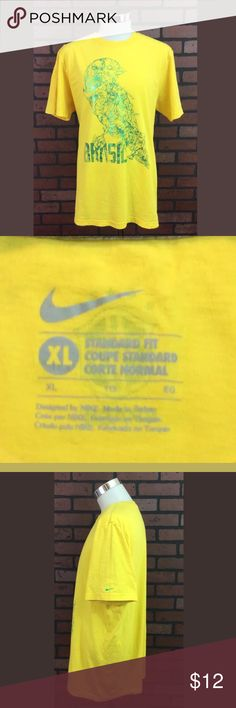 Brazil Futbol/Soccer T-Shirt If you like soccer/FIFA/Futbol,  this is the T-shirt for you… Of course if you are a fan of team Brazil. This is in awesome condition. Add it to your collection. Nike does it right. Nike Shirts Tees - Short Sleeve