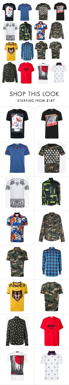 """""""Pt:2"""" by cupcakemafia32 ❤ liked on Polyvore featuring Neil Barrett, Versus, Givenchy, Valentino, Alexander McQueen, Versace, Gucci, Yves Saint Laurent, Dsquared2 and men's fashion"""