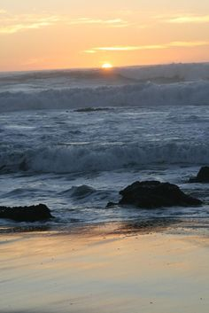 Pichilemu, Chile  - Sunset