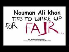 ▶ Tips for Fajr | Nouman Ali Khan | Illustrated - YouTube