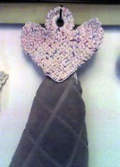 Angel Towel Holder