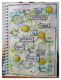 "Positiv Journal ... Ma semaine 4 : Thème ""Cette phrase sera votre mantra"""