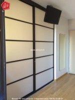 Panneau japonais qui s pare une salle d 39 attente cloison for Decoration porte japonaise
