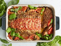 Meatloaf, Lasagna, Food And Drink, Cooking Recipes, Dinner, Ethnic Recipes, Koti, Hamburgers, Drinks