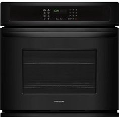 Frigidaire FFEW3026TB 30 Inch 46 cu ft Total Capacity Electric Single Wall Oven with 2 Oven Racks Sabbath Mode ADA Compliant in Black * Click for Special Deals #WallOven