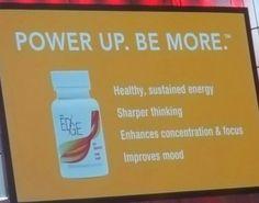 New product! #healthyenergy #sharperthinking #enhancedfocus #improvedmood #plexusedge