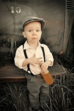 Toddler Buttoned Suspenders Tutorial